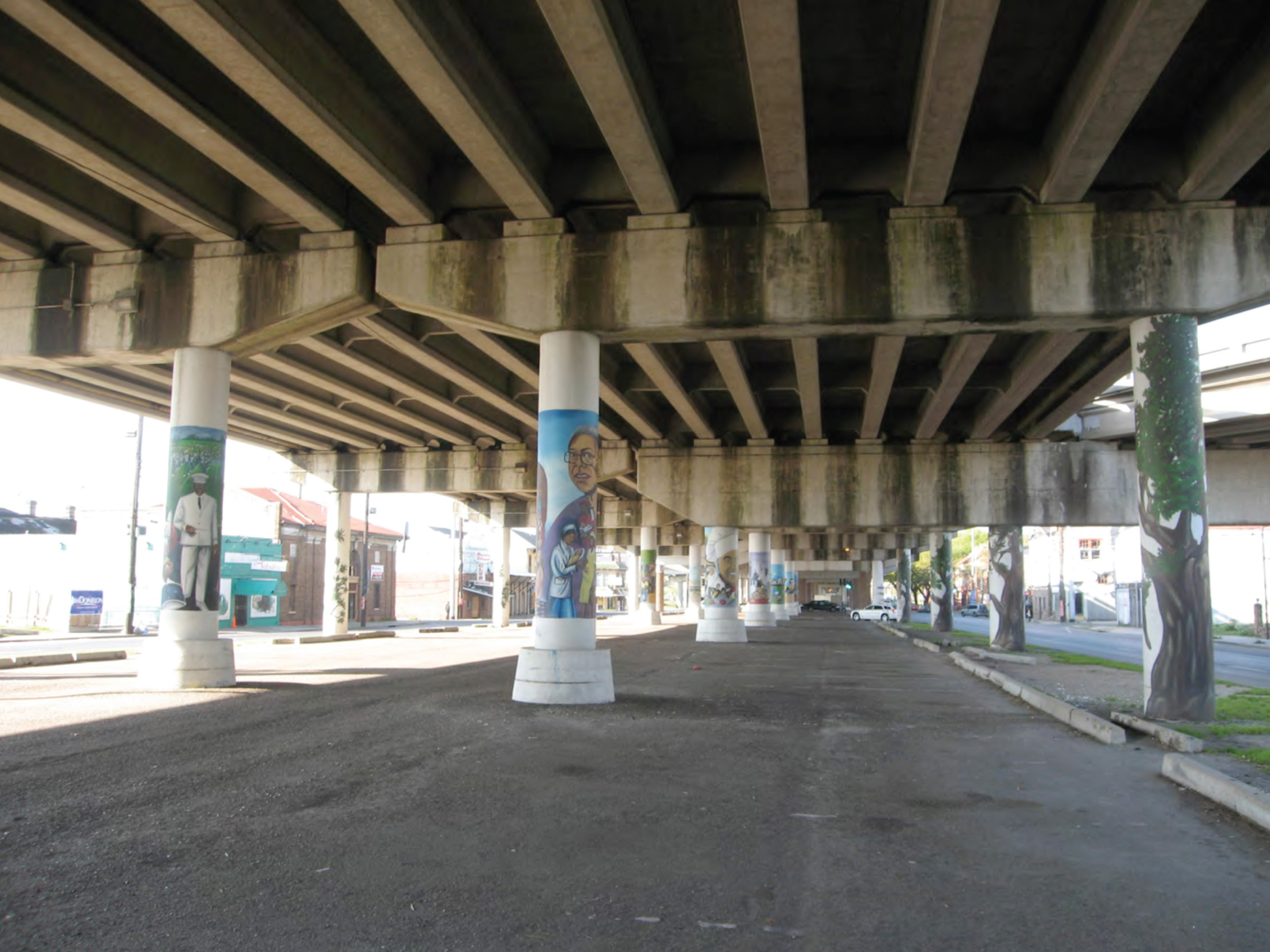 Under the overpass, 2010