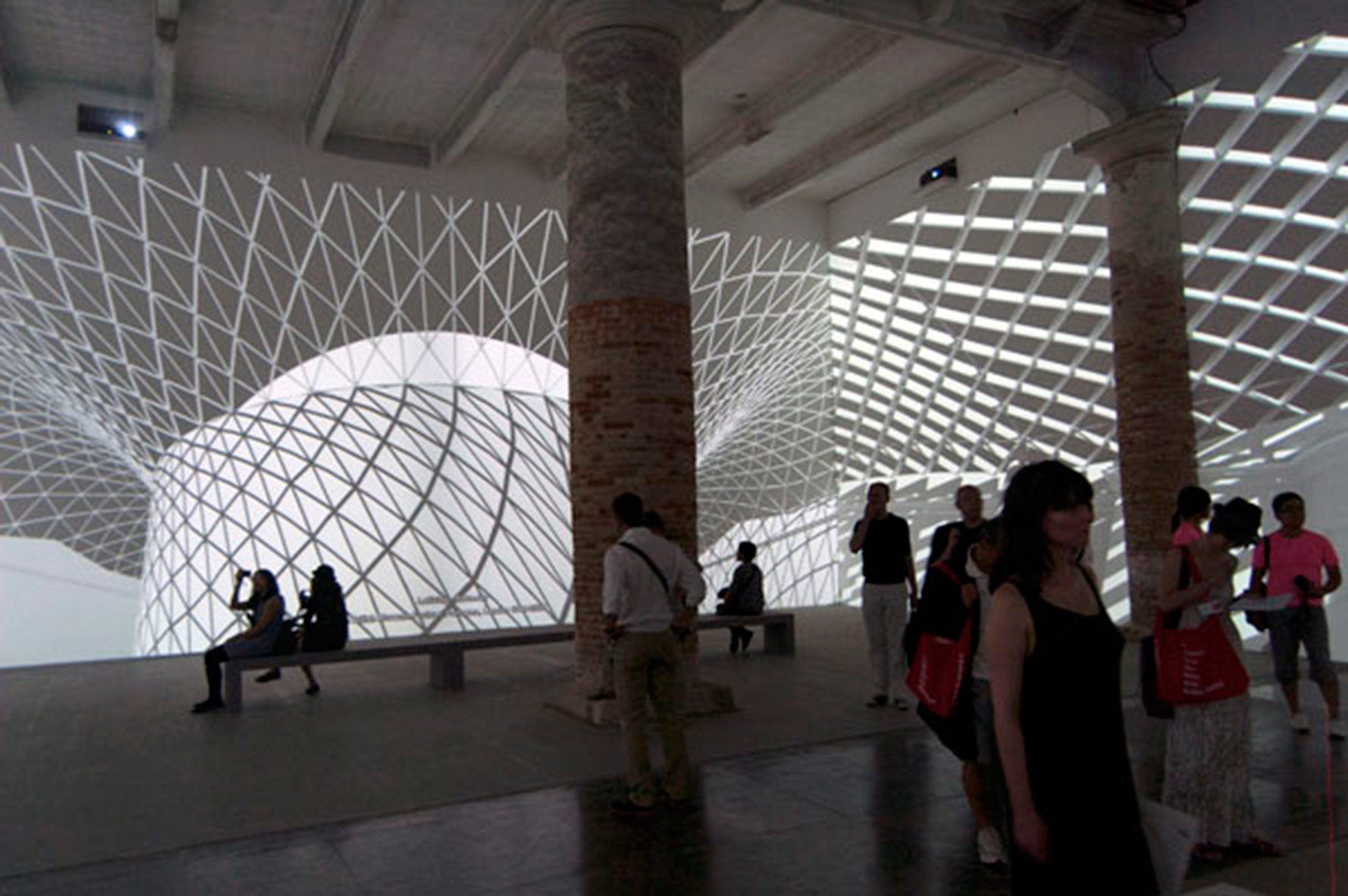 Common Grounds, an installation by Farshid Moussavi at the 13th Architecture Biennale in Venice