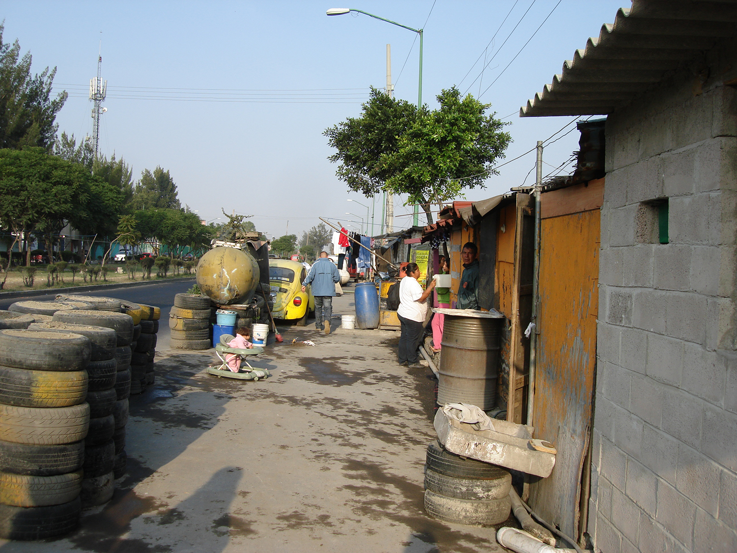 A scene from Iztapalapa