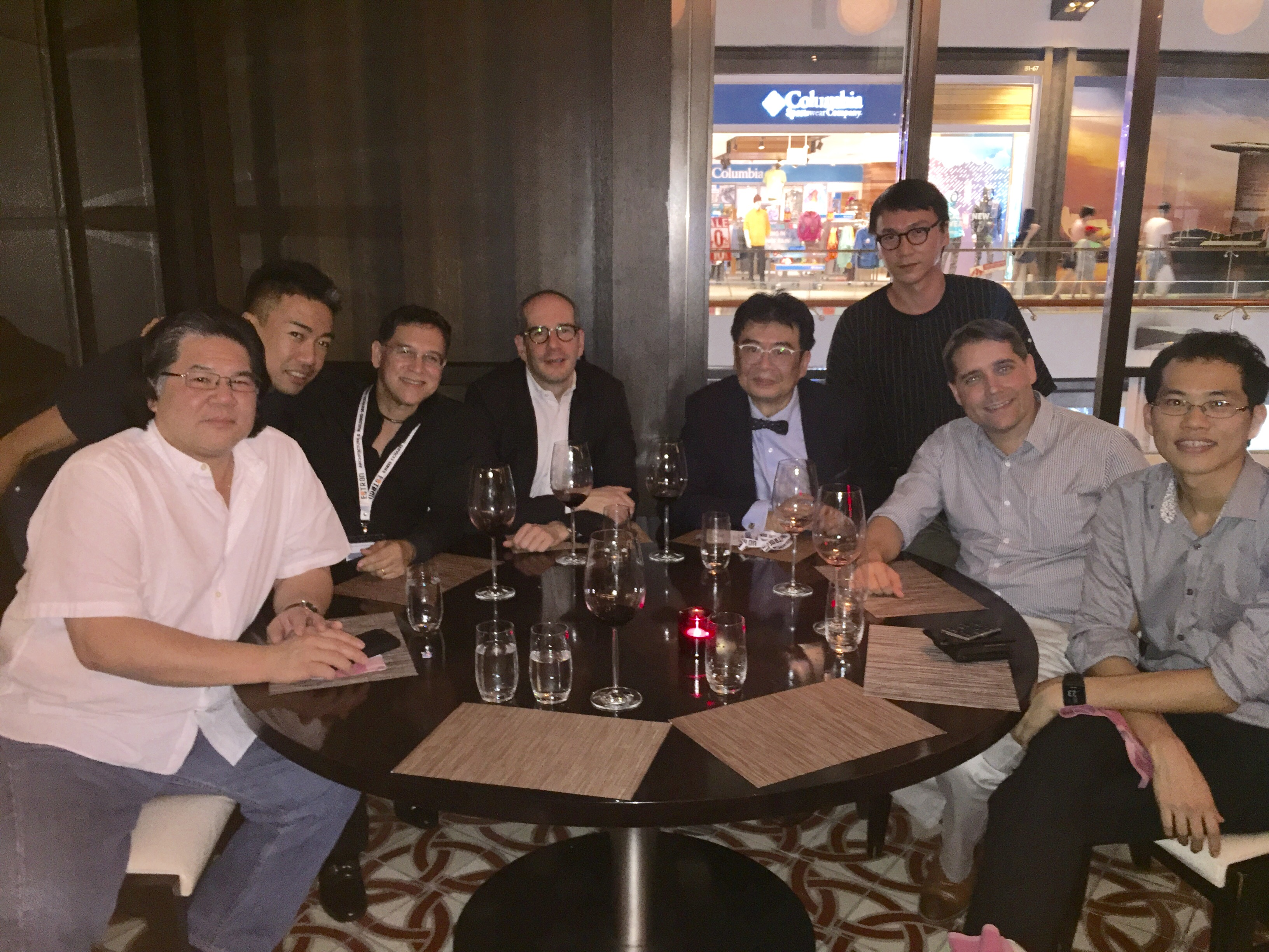 Fall GSD ASEAN Alumni Reunion in Singapore with Felipe Correa MAUD '03, associate professor in the Department of Urban Planning and Design (fourth from left).
