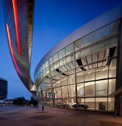 NASCAR Hall of Fame. Photo © Paul Warchol.