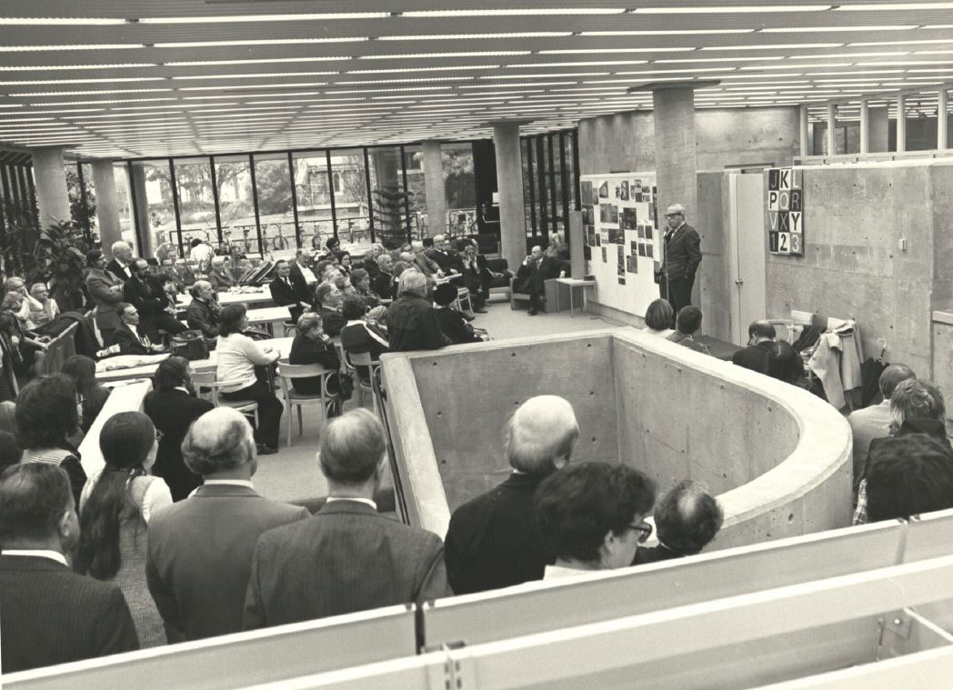 Loeb Library Dedication (1972)