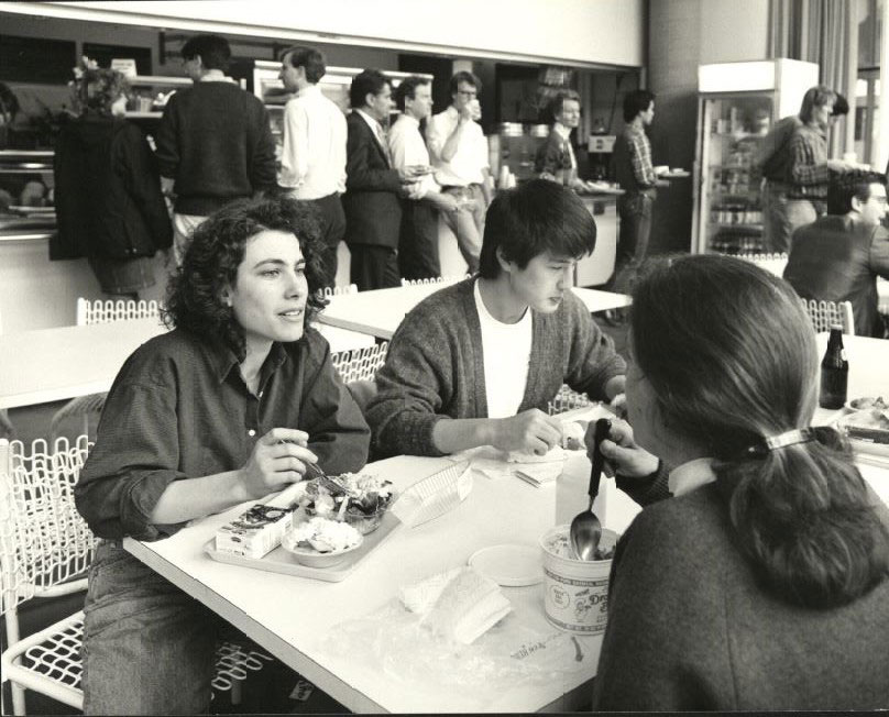 Lunch in Chauhaus (1980s)