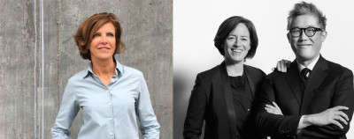 Jeanne Gang MArch '93 (left), Sharon Johnston MArch '95 (middle), and Mark Lee MArch '95 (right) will join the GSD faculty as Professors in Practice of Architecture, effective July 1, 2018.