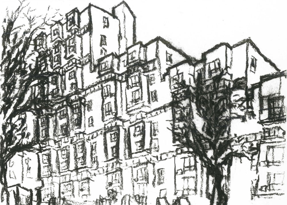 Roosevelt Island Housing (Sert, Jackson) New York, New York 