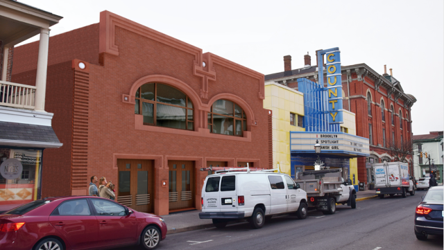 George Ranalli addition to the County Theater, in Doylestown, Penn. (Ranalli)
