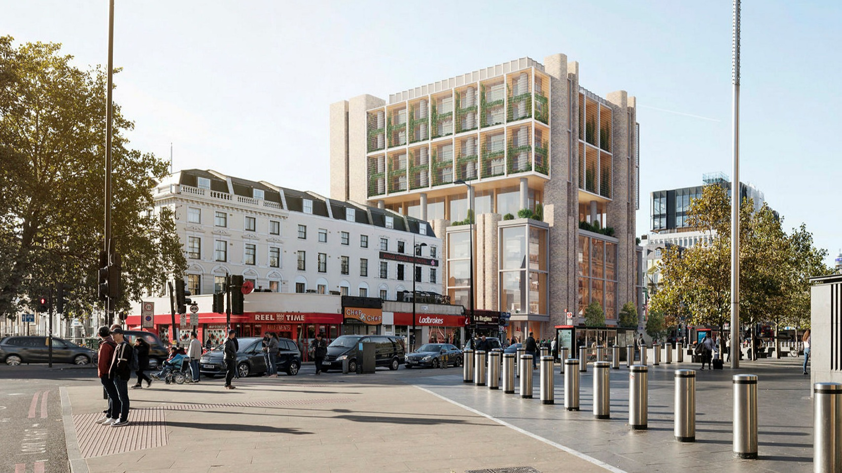 Merck to Build New Headquarters in King's Cross