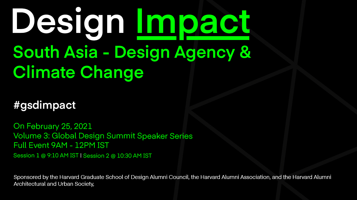 Design Impact Series: South Asia - Design Agency & Climate Change