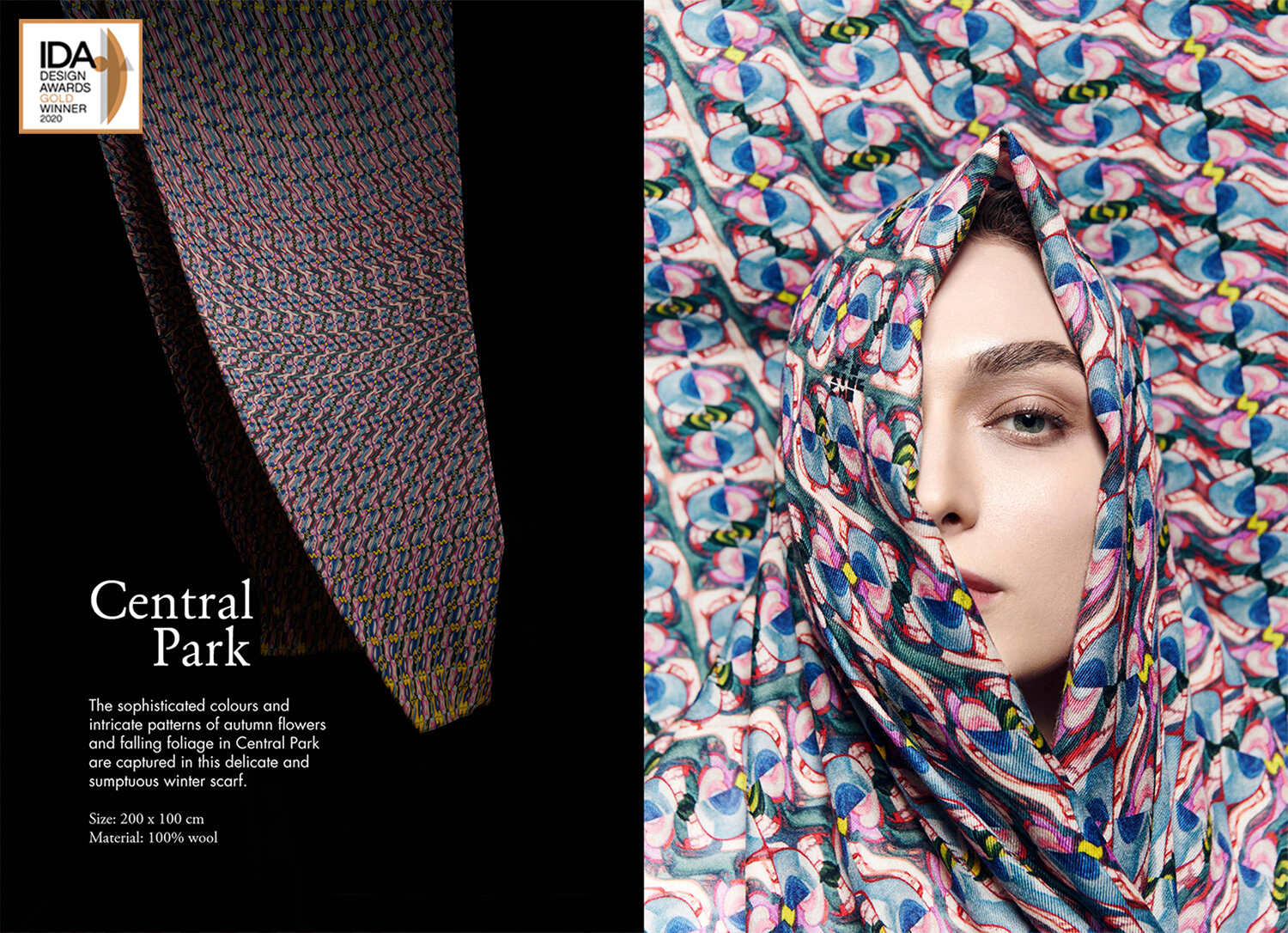 Central park scarf designed by Yen-Ting Cho