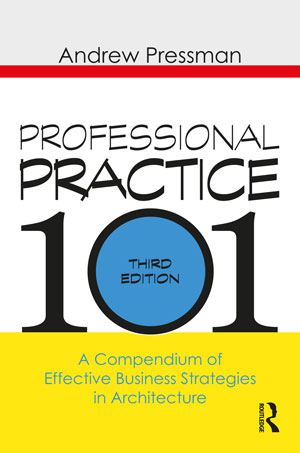 """Book cover of """"Professional Practice 101"""