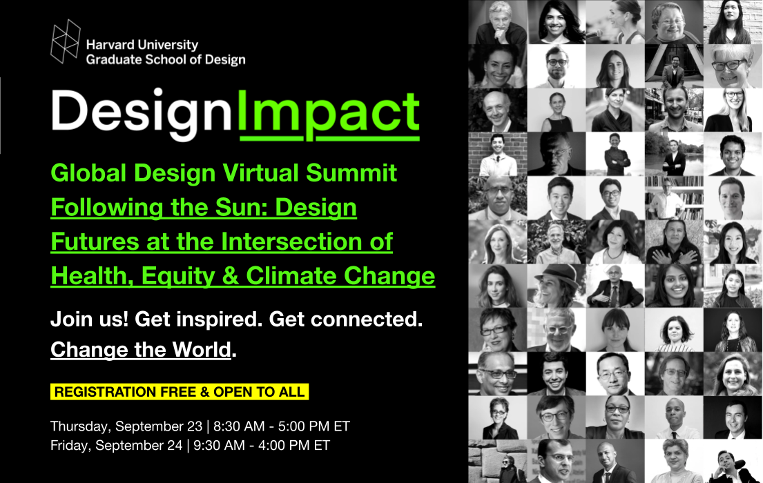 Design Impact Series: Following the Sun: Design Futures at the Intersection of Health, Equity and Climate Change